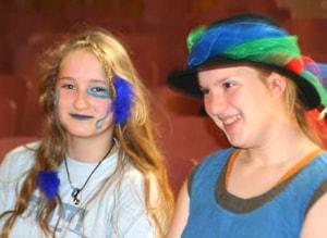 TOUSSINI.de circus mobile Schulprojekt Schauspiel