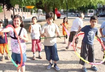 TOUSSINI.de circus mobile Schulprojekt Jonglage