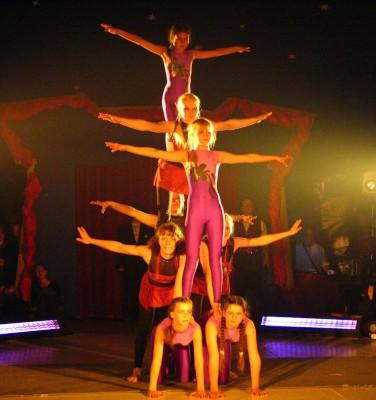Zirkusprojekt Akrobatikshow