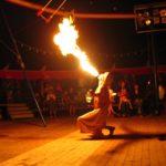Toussini Zirkus Feuershow