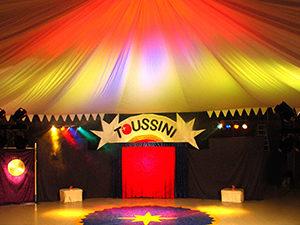 Europas erstes Indoor Zirkuszelt